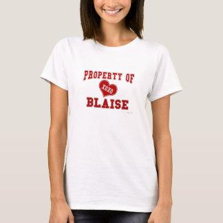 Propriété de Blaise T-shirt