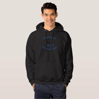 Propriété de sweat - shirt à capuche de YHWH