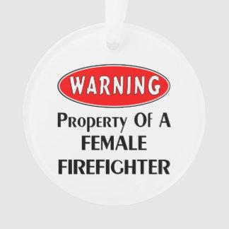 Propriété femelle de sapeur-pompier