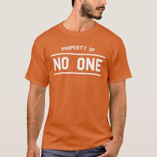 Propriété sans un T-shirt Tumblr