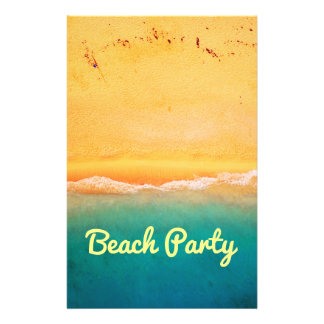 Prospectus 14 Cm X 21,6 Cm Partie et célébrations de plage