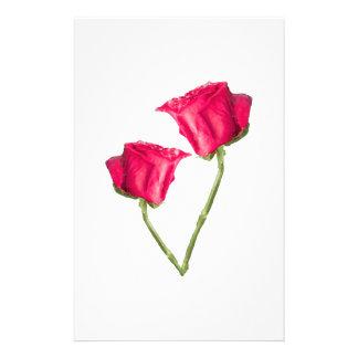 Prospectus 14 Cm X 21,6 Cm Photo de roses rouges