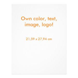 Prospectus 21,6 Cm X 24,94 Cm D'insecte blanc uni - posséder la couleur