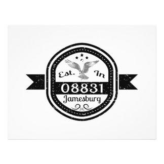 Prospectus 21,6 Cm X 24,94 Cm Établi dans 08831 Jamesburg