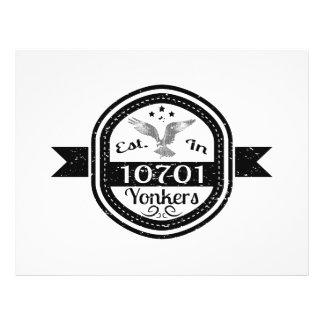Prospectus 21,6 Cm X 24,94 Cm Établi dans 10701 Yonkers