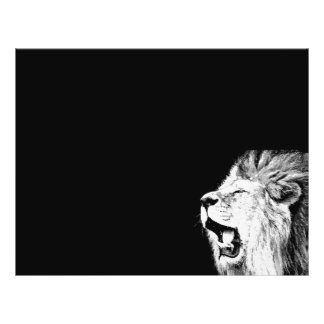 Prospectus 21,6 Cm X 24,94 Cm Lion d'hurlement