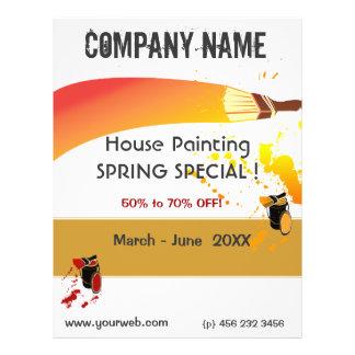 Prospectus 21,6 Cm X 24,94 Cm Peignez l'entretien de peinture pour bâtiments de