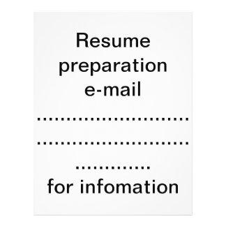 Prospectus 21,6 Cm X 24,94 Cm Préparation de résumé