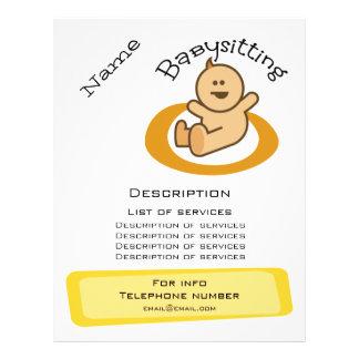 Prospectus 21,6 Cm X 24,94 Cm Promotion de garde d'enfants