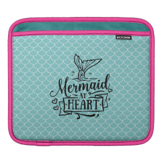 protection d'iPad - sirène au coeur