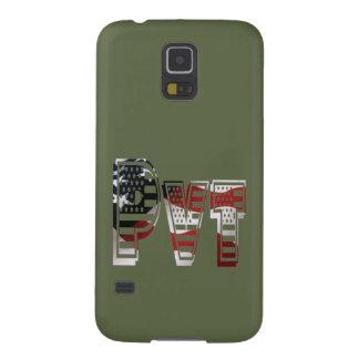 Protection Galaxy S5 Américain militaire privé Pvt de vert d'armée des
