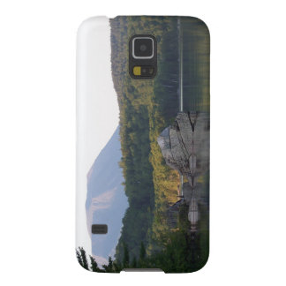 Protection Galaxy S5 Bâti Katahdin de lac rainbow