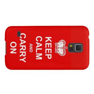 Protection Galaxy S5 Caisse de la galaxie S5 de Samsung