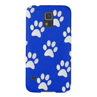 Protection Galaxy S5 Motif adorable d'empreinte de patte d'animal