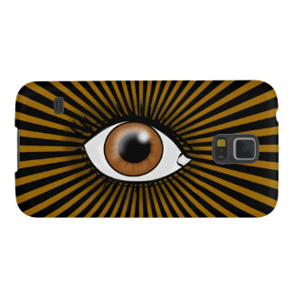 Protection Galaxy S5 Oeil solaire de Brown