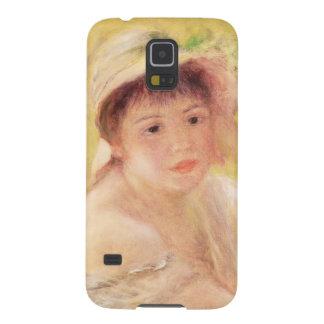 Protection Galaxy S5 Pierre une femme de Renoir   dans un chapeau de