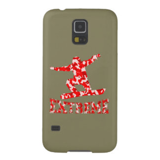 Protection Galaxy S5 Surfeur EXTRÊME 1 CAMO ROUGE