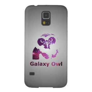 Protection Galaxy S5 Univers pourpre du hibou | de galaxie