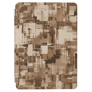 Protection iPad Air Abstrait motif gris d'art