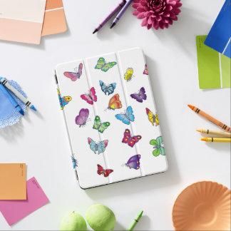 Protection iPad Air air d'iPad de papillon et couverture intelligente