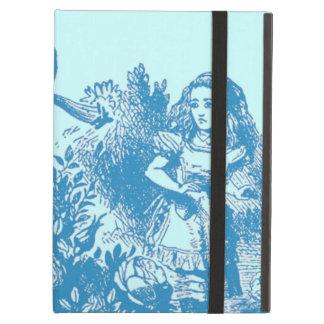 Protection iPad Air Alice vintage au pays des merveilles
