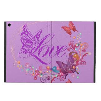 Protection iPad Air Amour de papillon