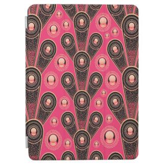 Protection iPad Air Arrière - plan gris et rose abstrait d'art de