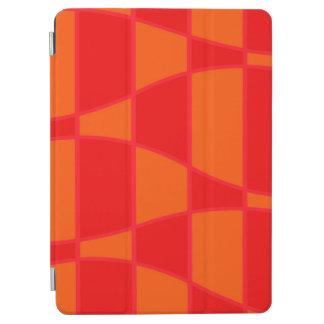 Protection iPad Air Arrière - plan orange et rouge abstrait