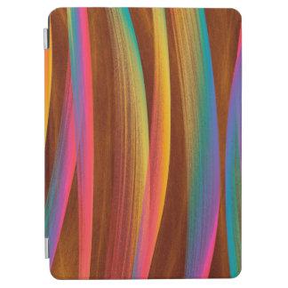 Protection iPad Air Art abstrait coloré à la mode