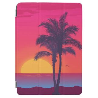 Protection iPad Air Belle caisse tropicale d'air d'iPad de plage d'été