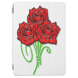 Protection iPad Air Bouquet rose