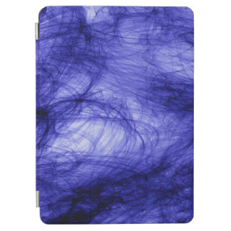 Protection iPad Air Brume bleue d'art d'abstraction