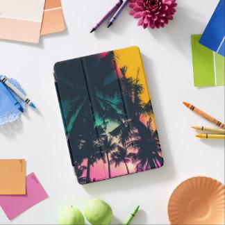 Protection iPad Air Caisse colorée d'air d'iPad de silhouette de