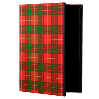 Protection iPad Air Caisse d'air d'iPad de tartan de Crawford