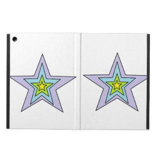 Protection iPad Air caisse d'air d'iPad sans l'art de Kickstand par