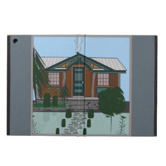 Protection iPad Air caisse d'air d'iPad sans le CABINE RUSTIQUE de