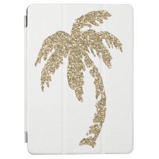 Protection iPad Air Caisse intelligente d'or de palmier d'air fait sur