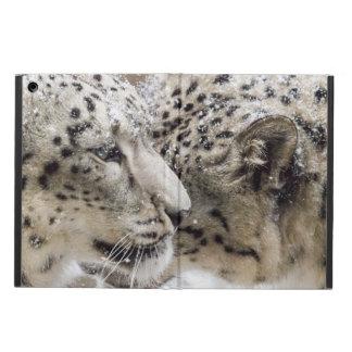 Protection iPad Air Caresse de léopard de neige