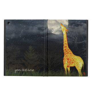Protection iPad Air Cas de l'iPad 2/3/4/Mini/Air de girafe et de lune