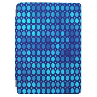 Protection iPad Air Cercles abstraits de bleu de motif