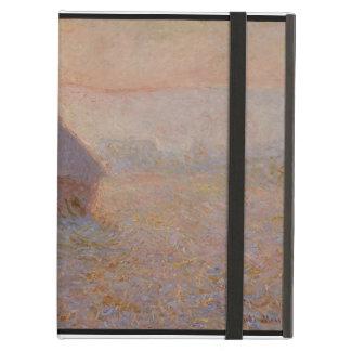 Protection iPad Air Claude Monet | Grainstack, Sun dans la brume