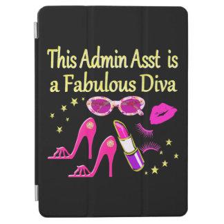 PROTECTION iPad AIR CONCEPTION ASSEZ ROSE DE DIVA D'ADMIN ASST