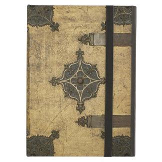 Protection iPad Air Conception en cuir médiévale rustique de
