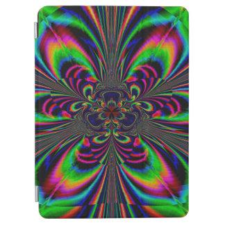 Protection iPad Air Conception florale de couleur multi abstraite de