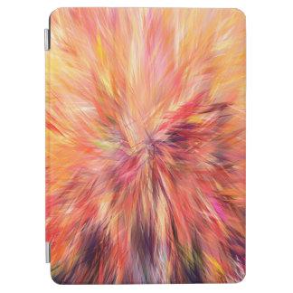 Protection iPad Air Couleur de rose d'art d'abstraction