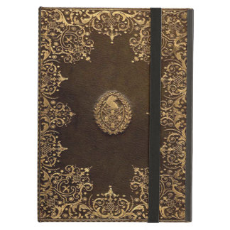 Protection iPad Air Couverture antique d'iPad de livre
