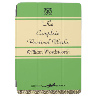 Protection iPad Air Couverture de livre de poèmes de William
