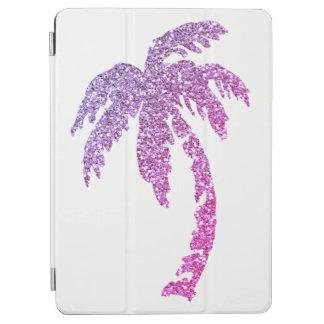 Protection iPad Air Couverture intelligente de palmier d'air pourpre