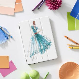 Protection iPad Air Croquis de mode de couture d'Apple sauvage | Haute