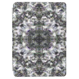 Protection iPad Air Dentelle argentée